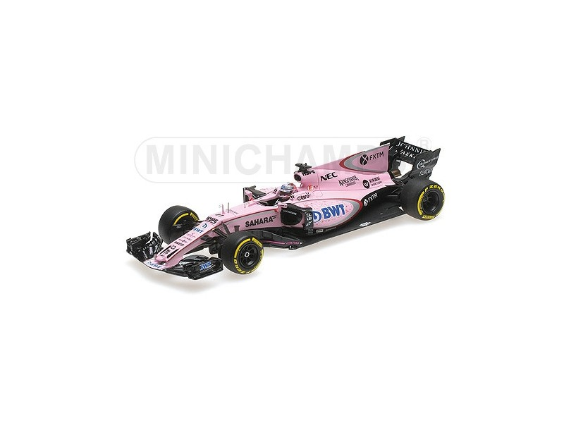 MODELLINO SAHARA FORCE INDIA VJM10 PEREZ GP AUSTRALIA 2017 MINICHAMPS