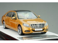 MODELLINO MERCEDES BENZ MAYBACH CLASSE S 2016 GOLD ALMOST REAL