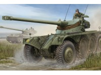 FRENCH EBR-10 WHEELED RECONNAISSANCE VEHICLE KIT DI MONTAGGIO HOBBY BOSS