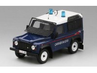 MODELLINO LAND ROVER DEFENDER 90 STATION WAGON CARABINIERI TSM MODEL
