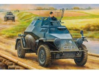 GERMAN LEICHTER PANZERSPAHWAGEN MID VERSION KIT DI MONTAGGIO HOBBY BOSS