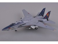 F-14B TOMCAT VF-11 RED RIPPERS MODELLINO ASSEMBLATO EASY MODEL