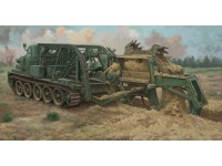 BTM-3 HIGH SPEED TRENCH DIGGING VEHICLE KIT MONTAGGIO TRUMPETER