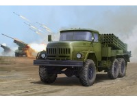 RUSSIAN 9P138 GRAD-1 ON ZIL-131 KIT MONTAGGIO TRUMPETER