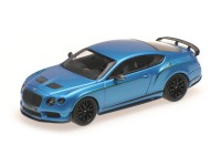 MODELLINO BENTLEY CONTINENTAL GT3-R KING FISHER CHINA EDITION ALMOST REAL