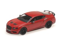 MODEL BENTLEY CONTINENTAL GT3 R JAMES RED CHINA EDITION ALMOST REAL