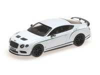 MODEL BENTLEY GT3 R WHITE ALMOST REAL