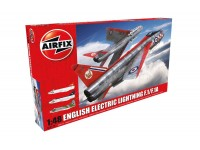 Airfix English Electric Lightning F1/F1A Aereo in Kit di Montaggio