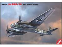 ICM Ju 88A-4 WWII German Bomber Modellino da Costruire