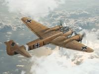 ICM Ju 88A-11 WWII German Bomber Modellino da Costruire