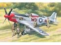 ICM mustang p-51d Modellino da Costruire