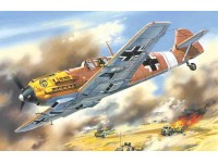 ICM Bf 109E-7/Trop Modellino da Costruire