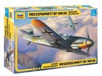 Zvezda GERMAN FIGHTER AIRCRAFT MESSERSCHMITT BF-109 G6 Modellino aereo da Montare