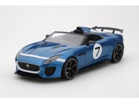 MODELLINO JAGUAR F-TYPE PROJECT 7 SCUDERIA ECOSSE TSM MODEL