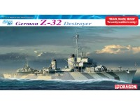 Dragon german z-32 destroyer kit montaggio navi in plastica