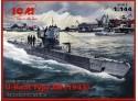 ICM u-boat type IIB 1943 kit montaggio in plastica