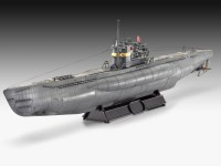 Revell German Submarine TYPE VII C/41 kit Modellismo Navale in Plastica