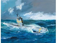 Revell german submarine type XXIII kit Modellismo Navale in Plastica