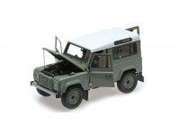 MODELLINO LAND ROVER DEFENDER 90 HERITAGE EDITION 2015 GREEN ALMOST REAL