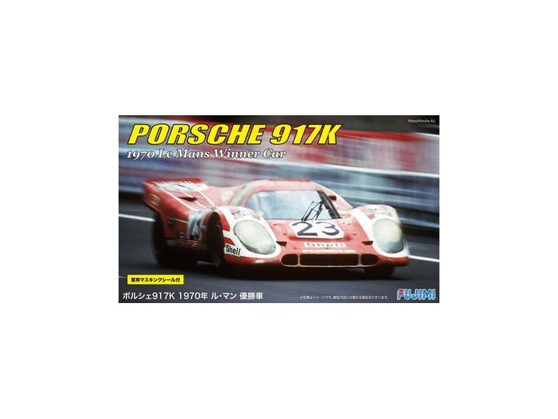 FUJIMI PORSCHE 917K WINNER LE MANS 1970 KIT DI MONTAGGIO