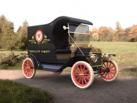 ICM Model T 1912 Light Delivery Car Kit di Montaggio