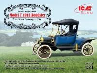 ICM Model T 1913 Roadster Kit di Montaggio