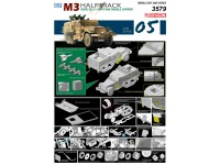 Dragon IDF M3 Halftrack Nord SS-11 Anti-Tank Missile Carrier Kit Montaggio Mezzi Militari