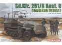 Dragon Sd.Kfz.251/6 Ausf.C Command Vehicle Kit Montaggio Mezzi Militari