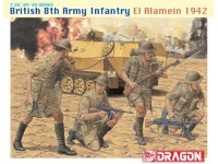 Dragon British 8th Army Infantry Kit Modellismo Militare