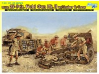 Dragon British 25-Pdr. Field Gun Mk.II with Limber & Crew Kit Montaggio Mezzi Militari