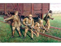 ICM British Infantry Kit Montaggio Modellismo Militare