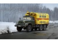 ICM ZiL-131 Emergency Truck Soviet Vehicle Kit Montaggio Mezzi Militari