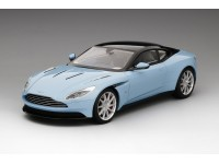 MODELLINO ASTON MARTIN DB11 FROSTED GLASS BLUE TOP SPEED TSM MODEL