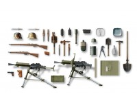 ICM Austro-Hungarian Infantry Weapon and Equipment Kit Montaggio Modellismo Militare