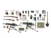 ICM Austro-Hungarian Infantry Weapon and Equipment Kit Montaggio Modellismo Militare