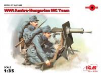 ICM Austro-Hungarian MG Team Kit Montaggio Modellismo Militare