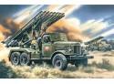 ICM BM-13-16 Multiple Launch Rocket System Kit Montaggio Mezzi Militari
