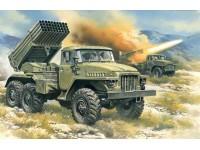 ICM BM-21 Grad Kit Montaggio Mezzi Militari