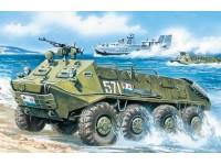 ICM BTR-60P Armored Personnel Carrier Kit Montaggio Mezzi Militari