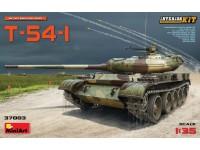 Miniart Carro Armato Sovietico T-54-1 Kit Montaggio Modellismo Militare