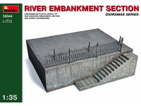 Miniart RIVER EMBANKMENT SECTION Kit Modellismo Militare