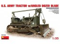 Miniart U.S. ARMY TRACTOR with ANGLED DOZER BLADE Kit Modellismo Militare