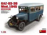 Miniart Bus Passeggeri GAZ-03-30 Kit Montaggio Modellismo