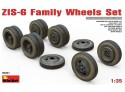 Miniart ZIS-6 Family Wheels Set Kit Modellismo Militare