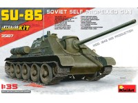 Miniart SU-85 SOVIET SELF-PROPELLED GUN Kit Veicoli Militari