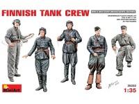 Miniart Equipaggio Carro Armato Finlandese Kit Figurini Militari