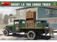 Miniart SOVIET 1,5 TON CARGO TRUCK Kit Mezzi Militari
