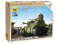 Zvezda M3 Lee US Medium Tank Kit Modellismo Militare