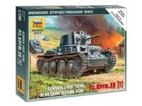 Zvezda Carro Armato PZ.KPFW.38 (T) Kit Modellismo Militare