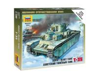 Zvezda Carro Armato Sovietico T-35 Kit Modellismo Militare